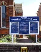 Bunyan Road Christian Fellowship Notice Board