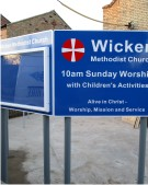 Wicken Methodist Church Notice Board