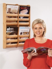 Wall Mounted Brochure Literature Holders Dispensers