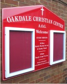 Oakdale Christian Centre Notice Board