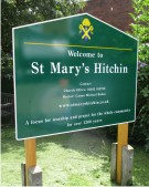 St Marys Hitchin Church Notice Board
