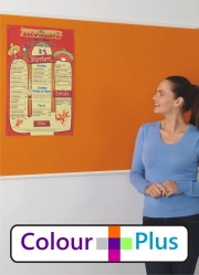 Colour Plus Colour Range Notice Boards