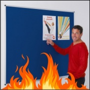 Fire Retardant Noticeboard