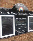 South Moor Methodist Church Notice Board