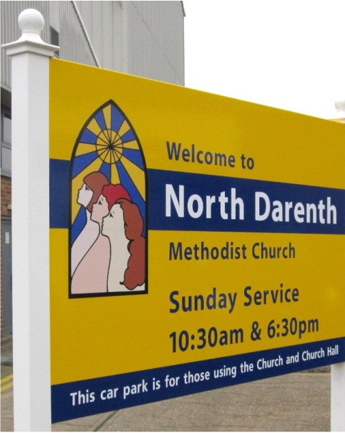 External Church Notice Boards for Sale  Greenbarnes Ltd UK