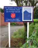 The Salvation Army Notice Board on Posts
