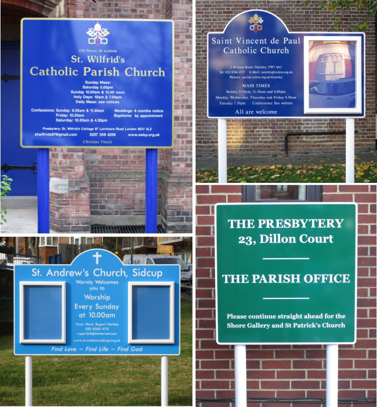 church signs and church noticeboards