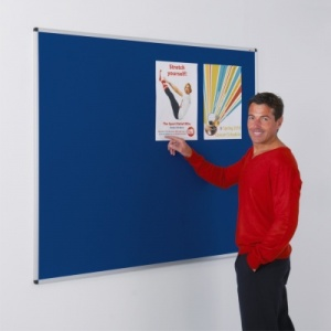 Metro Aluminium Framed Notice Boards