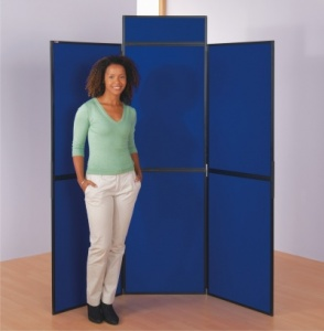 BusyFold Light - 6 Panel Folding Display System