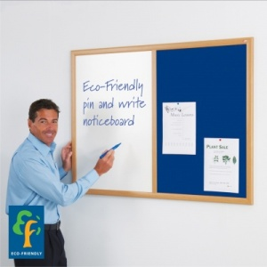 Eco-Friendly Dual Noticeboard