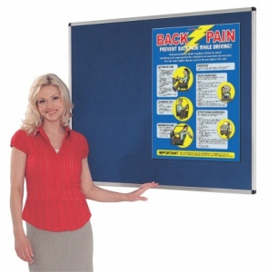 Resist-A-Flame Fire Retardant Aluminium Framed Notice Boards