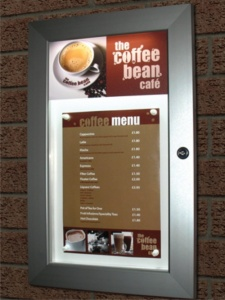 Slimlok LED Illuminated Menu Case