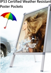 Weather Resistant Poster Pockets
