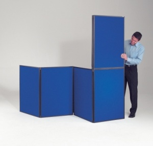 XL BusyFold Light - 10 Panel Folding Display System