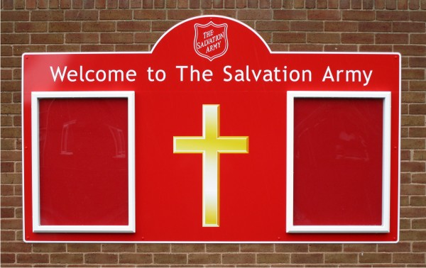 Double Superior External Church Notice Boards Signs For Churches