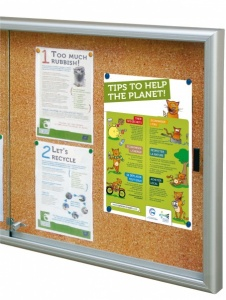 The Classic Sliding Door Notice Board