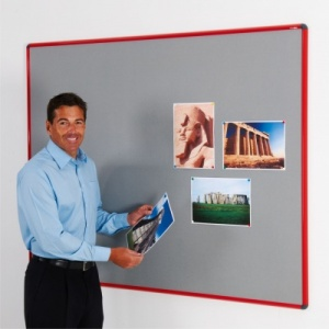 Shield Colour Framed Notice Boards