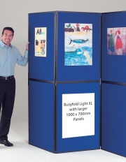 XL BusyFold Light - 7 Panel Folding Display System