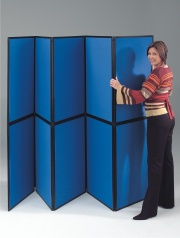 BusyFold Light - 10 Panel Folding Display System