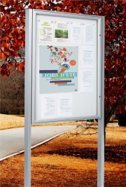 The Classic Post Mounted Notice Boards