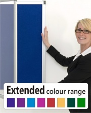 The Vision Tamperproof Noticeboard - Extended Colour Range