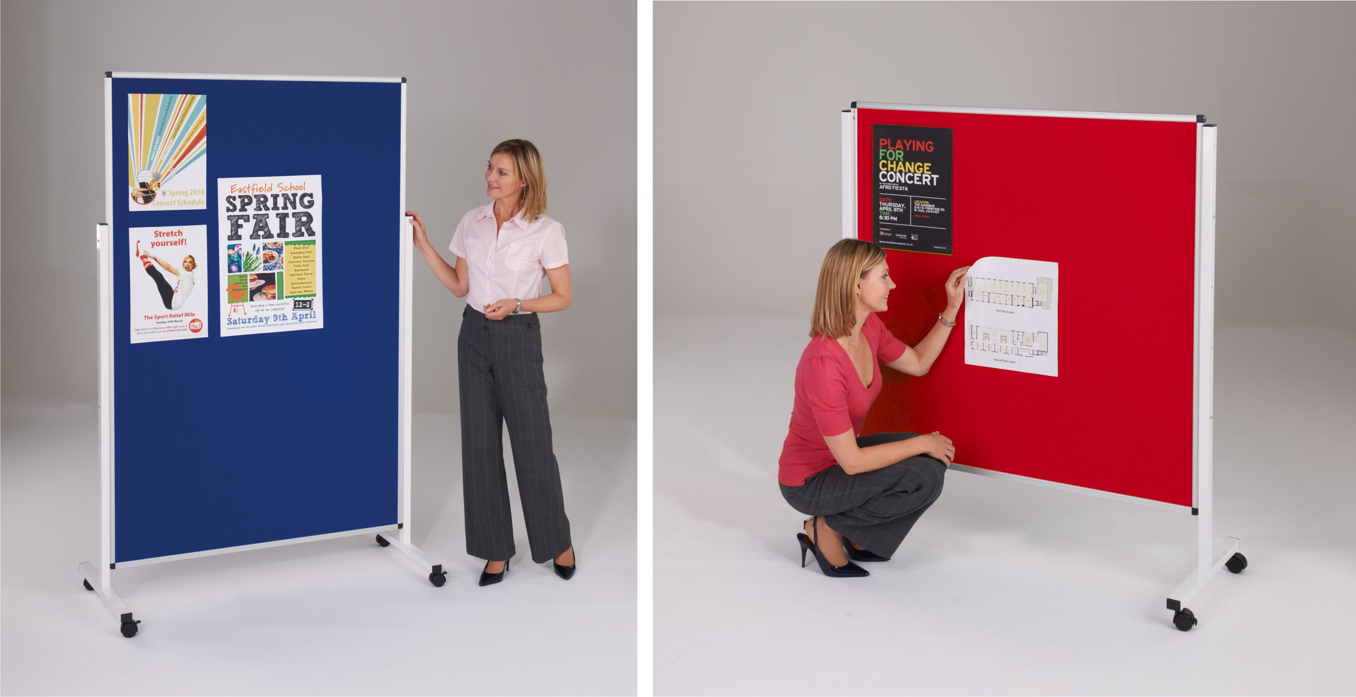 WriteOn - Height Adjustable Mobile Whiteboards