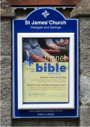 Mini Superior External Church Notice Boards