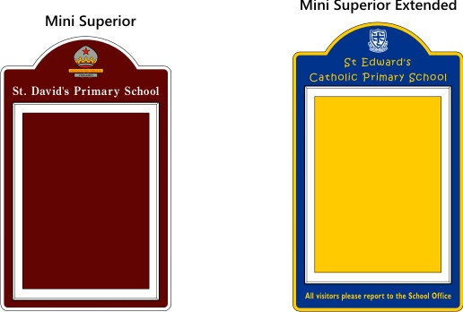 Mini Superior External Waterproof Notice Boards