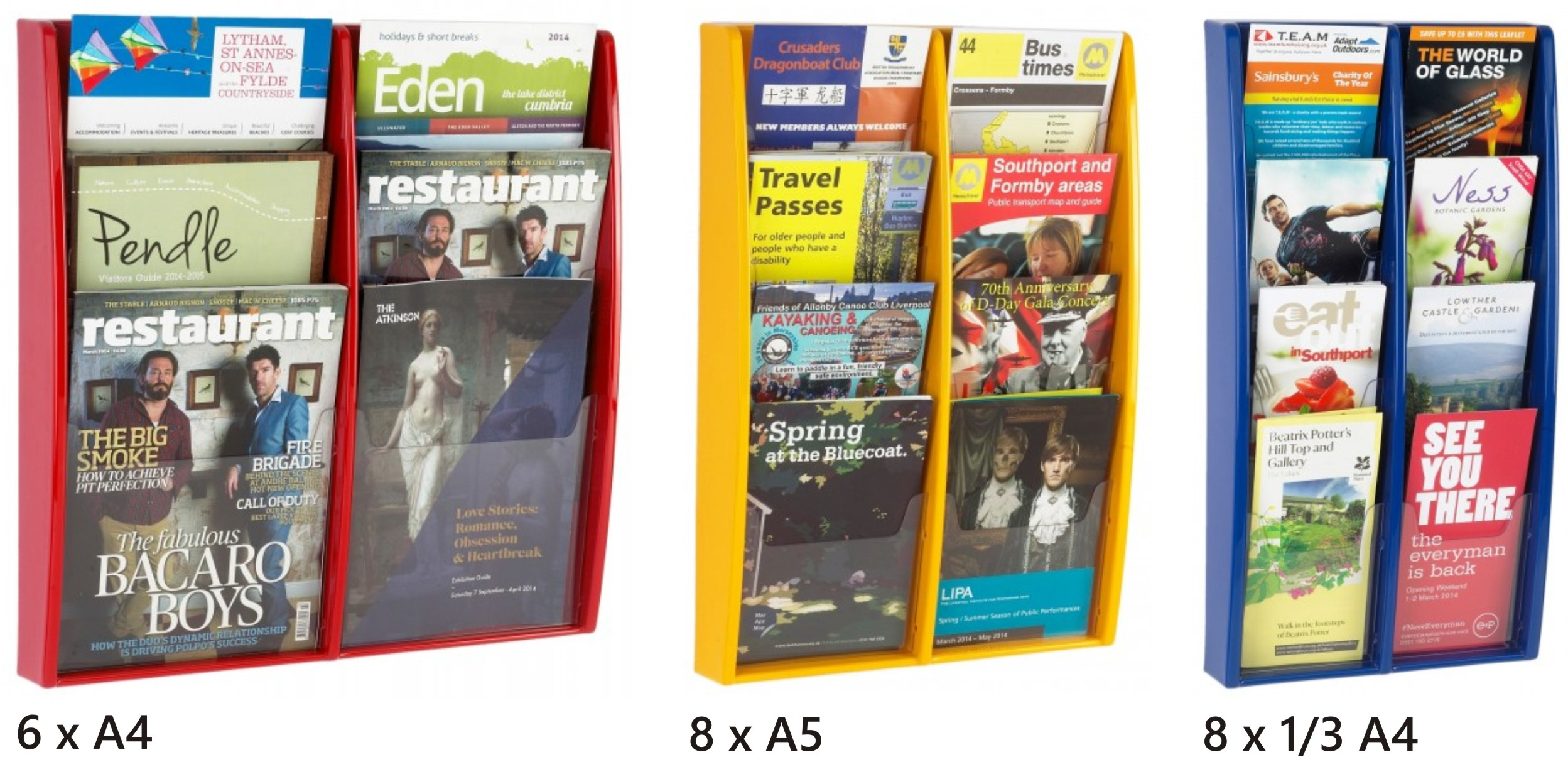 Multimax Double Tier Leaflet / Literature Holders