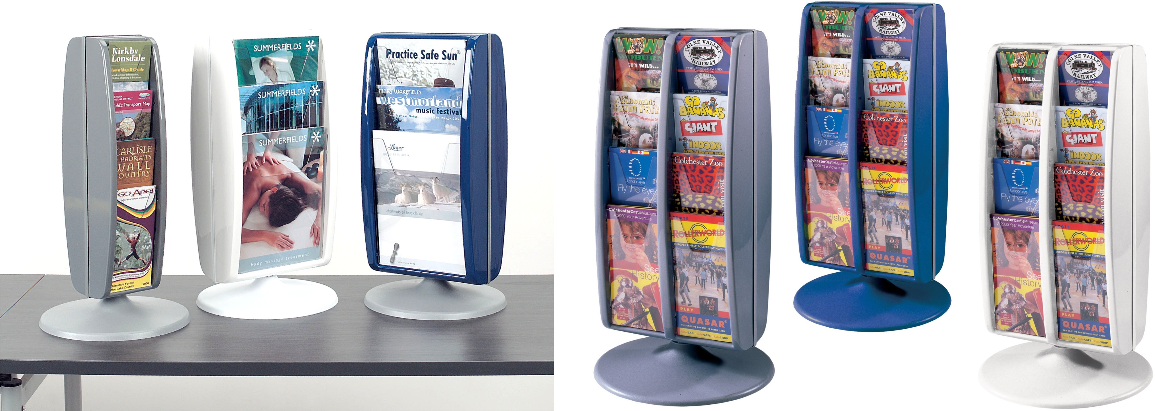 Panorama Desktop Leaflet Dispensers