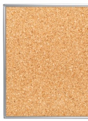 Slimline Natural Cork Notice Board