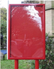 Storm Post Mounted Notice Boards