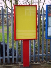 The Precinct External Notice Board