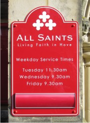 Church Signs - Wall Mounted