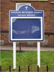 Midi Superior External Church Notice Board
