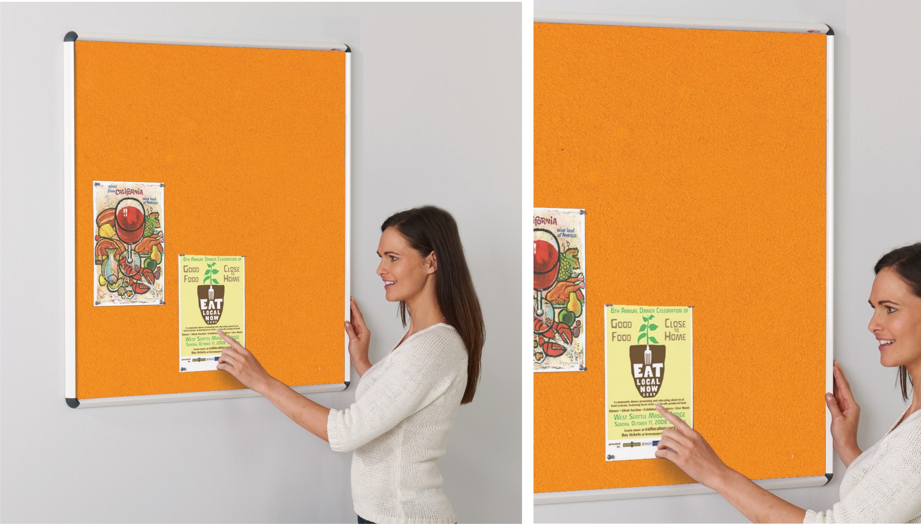 Shield ColourPlus Felt Notice Boards
