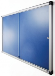The Vision Glass Sliding Door Notice Board